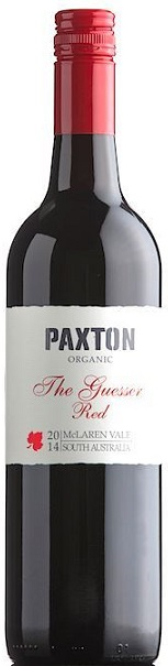 """The Guesser Red"" Blend 2016 Paxton BIO Demeter"